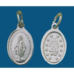 Medalla pequeña de aluminio en blanco. Bolsa de 1000 uds. Mod.10